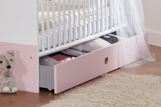 Lade voor Babybed Cindy 137x71x17cm