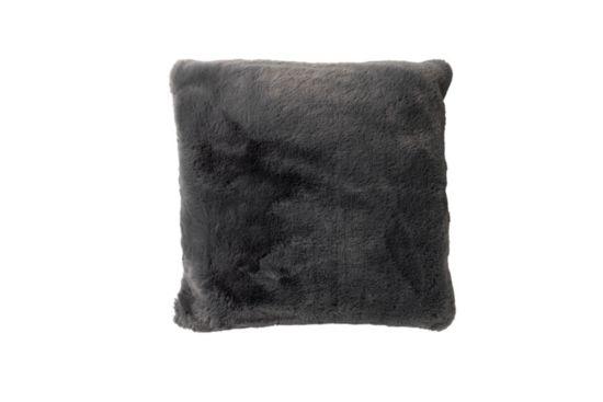 Kussen Zaya 45x45cm charcoal grey