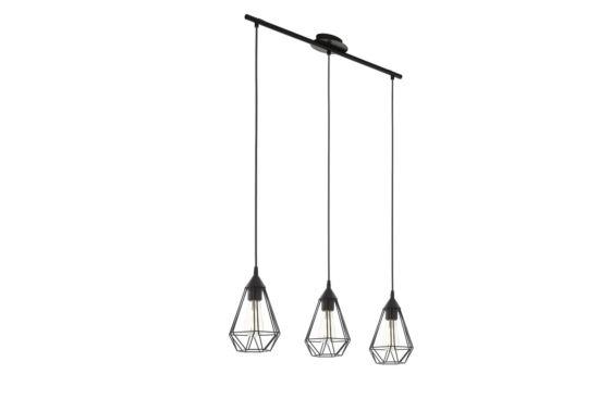 Hanglamp Tarbes 79x17,5cm 3x60W E27