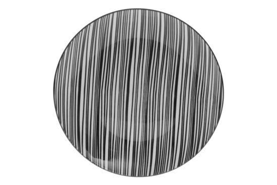 Bord Bohemia Zebra Ø27cm