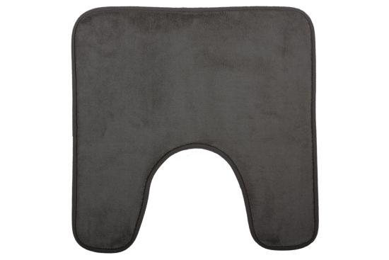 Wc-mat Memoire 48x48cm grijs