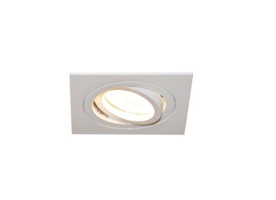 Inbouwspot LED vierkant wit 5W GU10