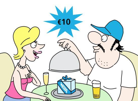Geschenkbon €10