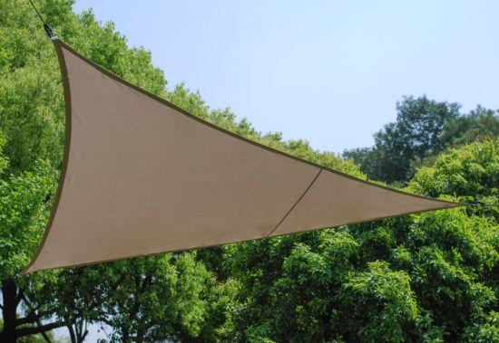 Schaduwdoek 500x500x500cm taupe