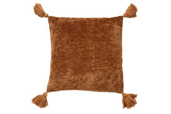 Kussen Nino 45x45cm tobacco brown