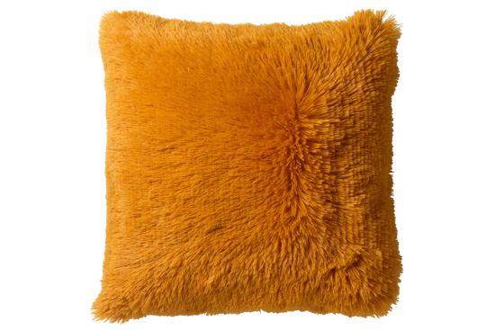 Kussen Fluffy 45x45cm golden glow