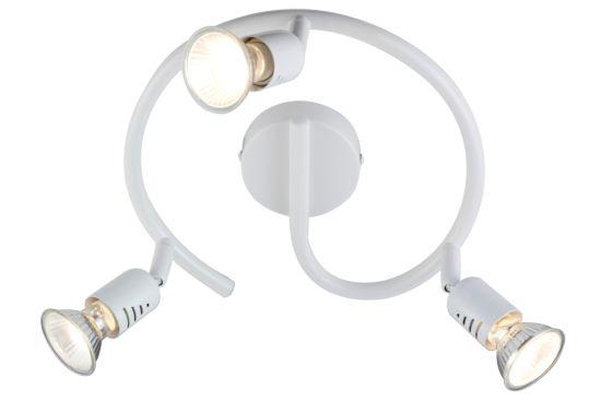 LED spot Loona met 3 spots 3W GU10