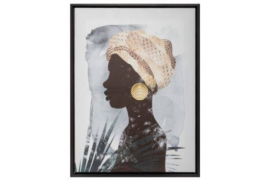 Foto op canvas Woman 45x60cm