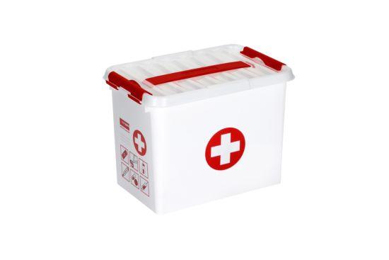 Opbergbox Q Line First aid 30x20x14cm