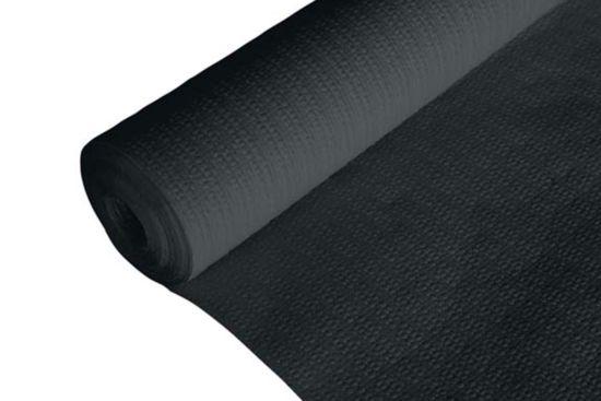 Tafellaken Ct Prof 120x500cm zwart