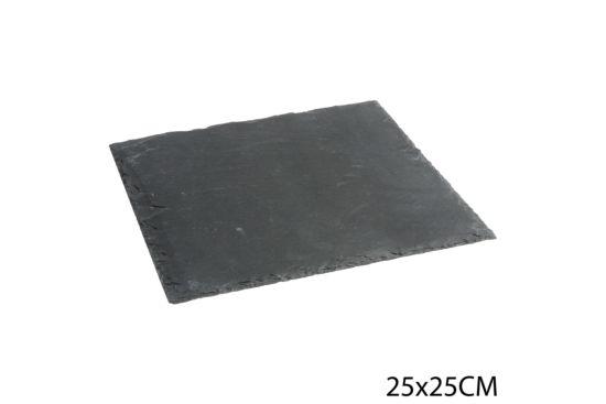 Leisteen bord 25x25cm