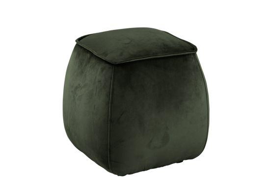 Poef 40x40x40cm donker groen
