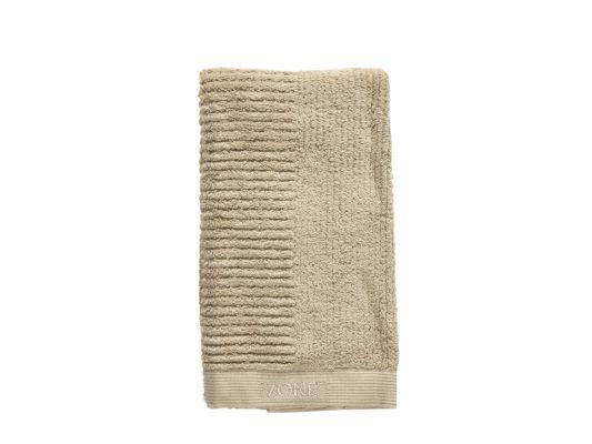 Handdoek 100x50cm warm zand
