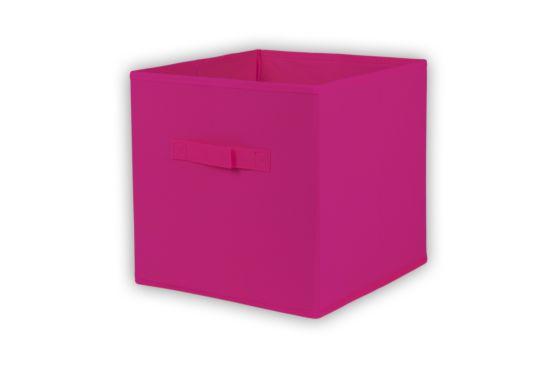 Opbergbox Moby 27,5x27,5x29cm roze