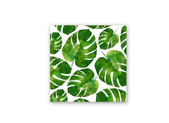 Servet Mademoiselle 33x33cm groen 20 stuks