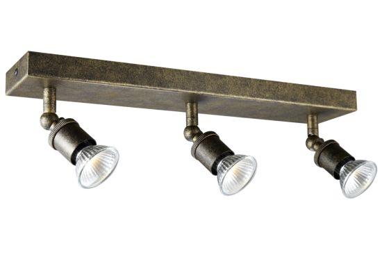 LED spot met 3 spots 5W GU10