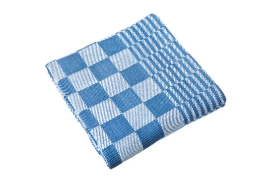 Keukenhanddoek Mineur 65x65cm blauw, set van 6