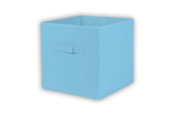 Opbergbox Moby 27,5x27,5x29cm lichtblauw