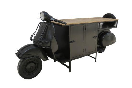 Keukenkast Scooter 244cm