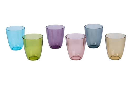 Glas Cosy Moments Streetfood 31cl, set van 6