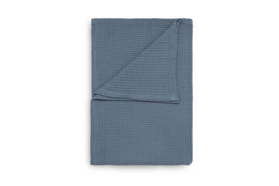 Plaid 180x260cm colonial blue