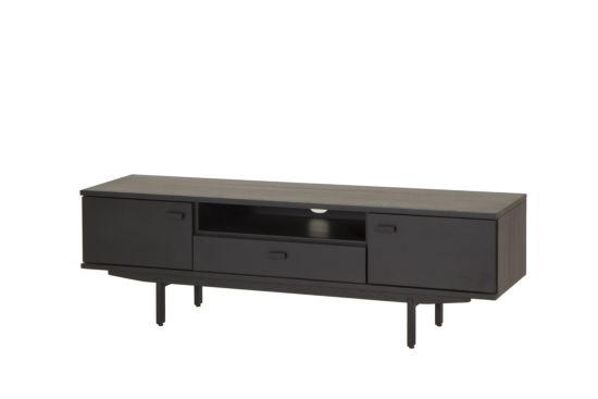 Modern tv-meubel Darko eiken zwart 160cm