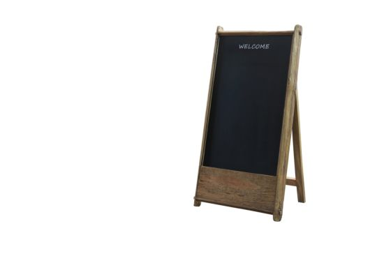 Schrijfbord Opium  62x120cm