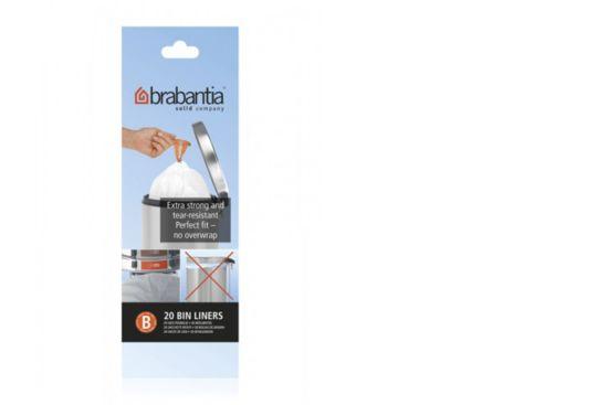 Afvalzak Brabantia 5L maat B 20 stuks