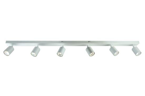 LED spot Ecco met 6 spots 4W GU10