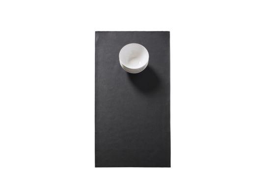 Tafelloper Monaco 45x140cm zwart