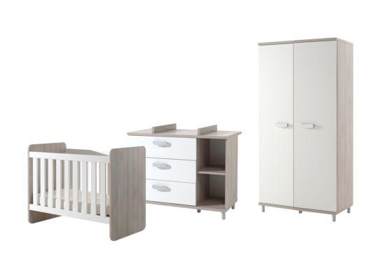 Babykamer Noor met 2-deurs kast