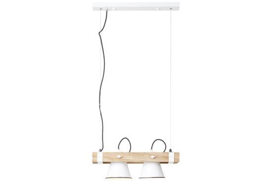 Hanglamp Plow 51x20cm 2x10W E27