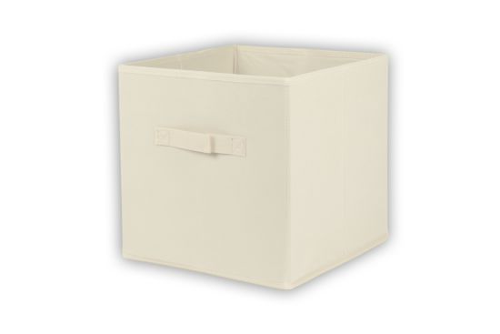Opbergbox Moby 27,5x27,5x29cm beige