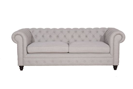 Chesterfield Moonlight 3-zit stof beige