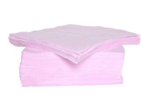 Servet CT Prof 38x38cm roze, 40 stuks
