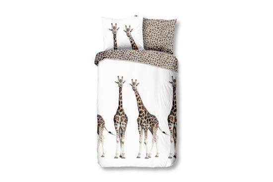 Dekbedovertrek Giraffe 140x220cm katoen