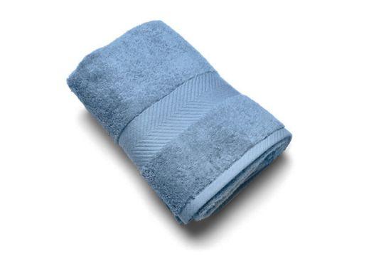 Gastendoekje Royal Touch 30x30cm jeans