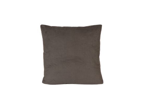 Kussen Corduroy 45x45cm grijs