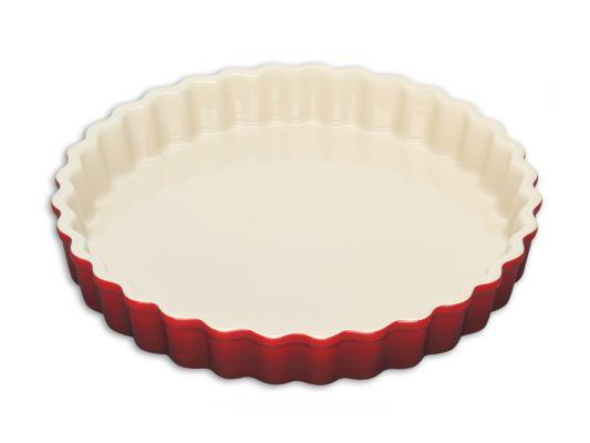 Taartvorm Le Creuset Ø28cm rood