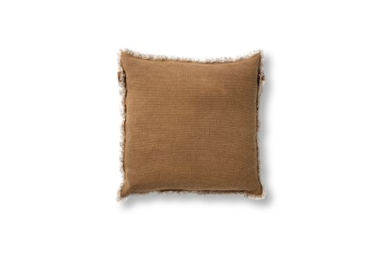 Kussen Burto 60x60cm tobacco brown