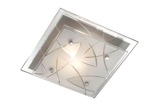 Plafondlamp 24x24cm