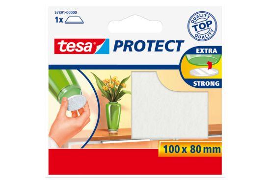 Beschermviltjes tesa 10x8cm wit