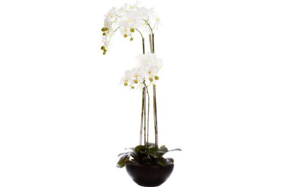 Kunstbloem Orchidee H110cm