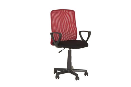 Bureaustoel Mosquito rood zwart