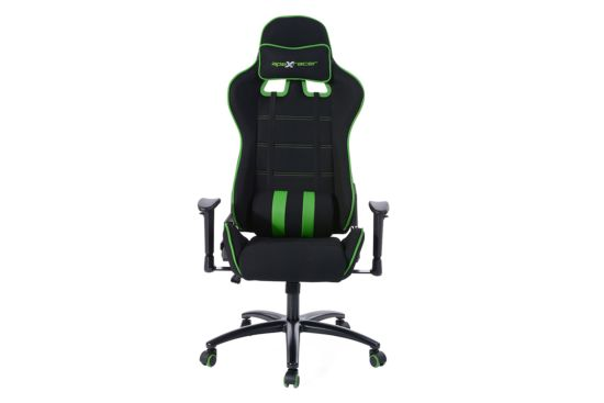 Gaming chair Norris zwart groen