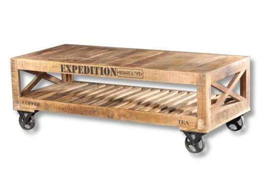 Salontafel Expedition 143x61cm