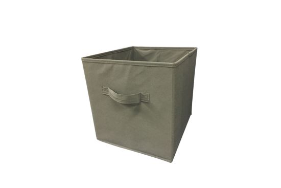 Opbergbox Moby 27,5x27,5x29cm grijs