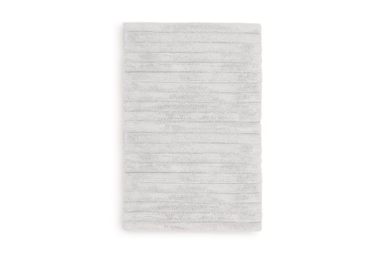 Badmat 60x100cm licht grijs