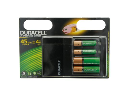 Batterijoplader Duracell