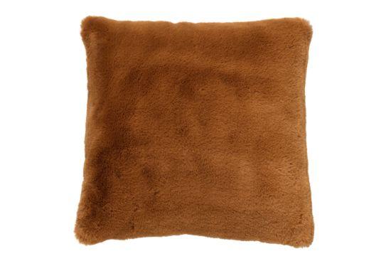 Kussen Zaya 45x45cm tobacco brown